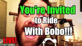 Live Stream | You're invited to ride with...