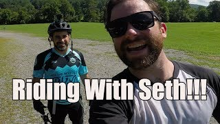 Riding With Seth (of Seth's Bike Hacks) MTB...