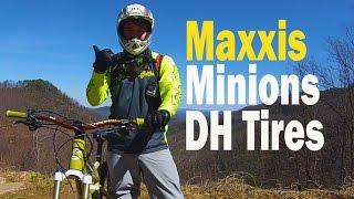MTB Kitsuma, Maxxis Minion DH Tire Upgrades