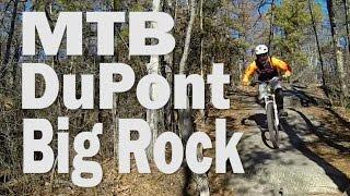 MTB Dupont NC, Big Rock Trail (Vlog#15)