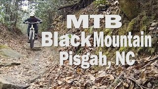 MTB Black Mountain, Pisgah National Forrest...