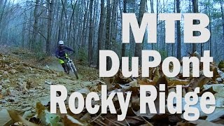 MTB Dupont NC Rocky Ridge, Biking With Bobo...
