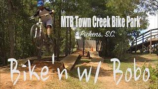 MTB Town Creek Bike Park, Pickens S.C. (Vlog #4)
