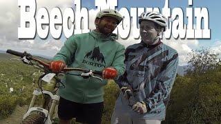 Downhill MTB Beech Mountain, NC (Mtb Vlog #1)...