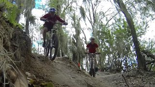 Mountain Biking Alafia River State Park,...