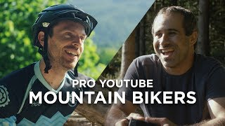 Riding with Pro YouTube Mountain Bikers (Ft....