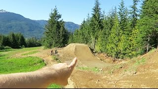 My First Time at the Whistler Bike Park...