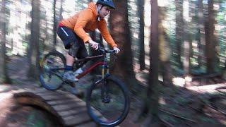 Mountain Biking on Mount Seymour