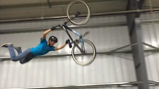 Indoor Dirt Jumping at Burlington Bike Park