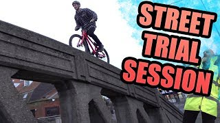 STREET TRIAL SESSION - Back on the trials bike