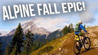 Elfin Lakes, Squamish Trail On A Mountain Bike...