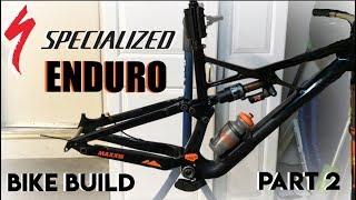 2018 S-Works Enduro 29 - Bike Build: Part 2