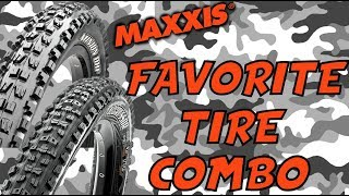 Maxxis DHF & Aggressor MTB Tire Review...