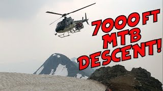 Mountain Bike Heli Drop?!? (Mt. Cartier,...