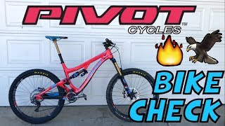 Pivot Firebird Bike Check - 'Murica Edition