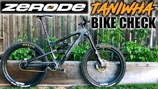 Zerode Taniwha Bike Check w/ Gearbox!!!