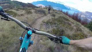 Mountain Biking in Queenstown, New Zealand /...