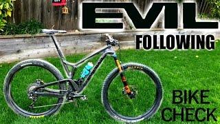 Alex's Evil Following Bike Check