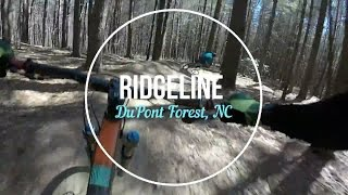 Mountain Biking Ridgeline Trail / DuPont State...