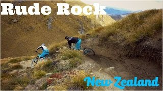 Mountain Biking Rude Rock Trail / Queenstown,...