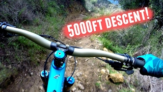5000ft MTB Descent!! *Mt. Wilson - Los...