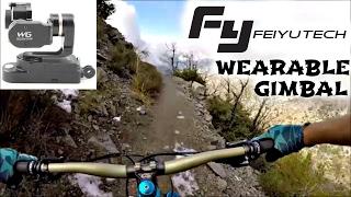 Mountain Biking with The Feiyu Tech Wearable...