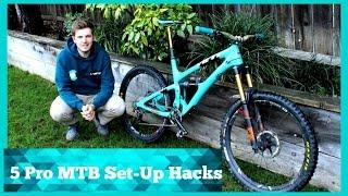 Top 5 Pro MTB Set-up Hacks
