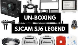 SJCAM SJ6 Legend 4k Action Camera Unboxing