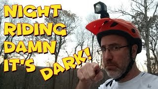 vlog ep 4 - Do you mtb at night? Are you using...