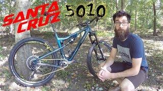 Santa Cruz 5010 MTB - - Geoff from Santa Cruz...