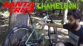 Santa Cruz Chameleon MTB  - Geoff from Santa...