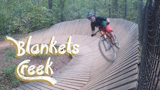 Blankets Creek Mountain Biking with Bobo!