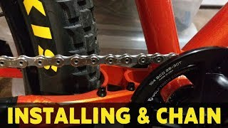 How to install a bike chain on your mountain bike