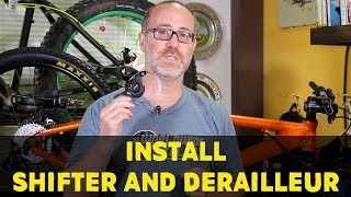 How to install your Shifter and Rear Derailleur