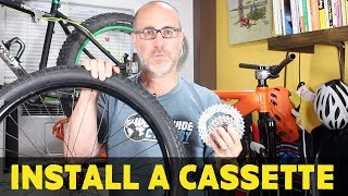 How to install a cassette on a bike | Part 7...