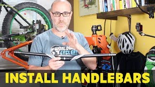How to install handlebars on your mtb | Part 5...