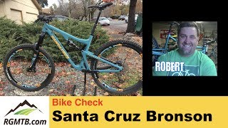 2017 Santa Cruz Bronson CC MTB | Bike Check...