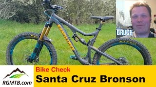 Bike Check - Santa Cruz Bronson V1 Carbon...