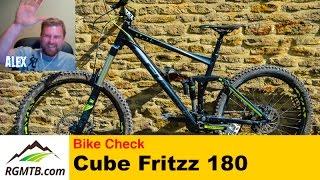 Bike Check - 2016 Cube Fritzz 180 HPA Race MTB...