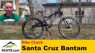 Bike Check - Santa Cruz Bantam Review