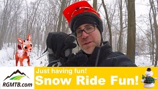 Winter Fat Bike Ride - Framed Minnesota 2.0...