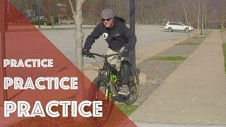 Mountain Bike Practice - Balance Drills