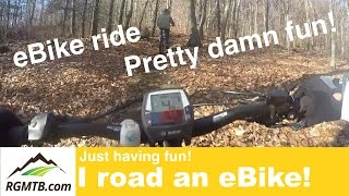 eBike Ride - Pretty Damn FUN with the Haibike...