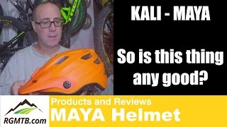 The MAYA Enduro Helmet by Kali