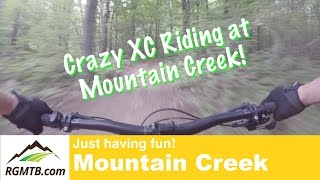 Checking out some XC at Mountain Creek