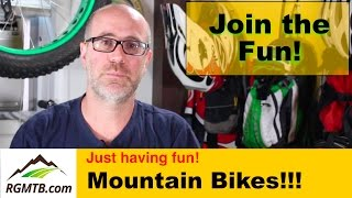 Regular Guy Mountain Biking Welcome Video -...