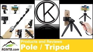 CamKix Premium Telescopic Pole and Tripod