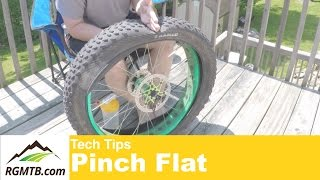 What is a pinch flat?