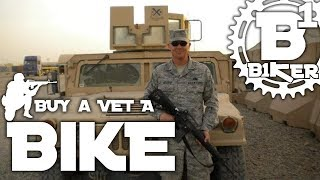 Buy a Vet a Bike - GoFund Me - B1KER Garage -...