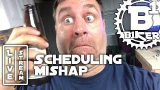Live Stream Scheduling Mishap - B1KER Garage -...